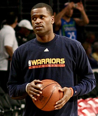 Stephen Jackson - Jackson with the Warriors in March 2008