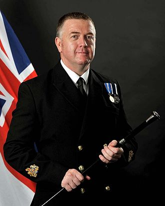 Warrant Officer of the Naval Service - Image: Steve Cass
