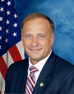 Steve King, official Congressional photo portrait