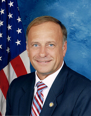 Iowa's congressional districts - Image: Steve King, official Congressional photo portrait