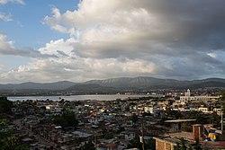 Skyline of Santiago de Cuba
