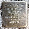Stolperstein Altonaer Str 15 (Hansa) Helene Meyer.jpg
