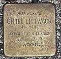 Stolperstein Bartningallee 7 (Hansa) Gittel Littwack.jpg