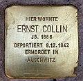 Stolperstein Cicerostr 61 (Wilmd) Ernst Collin.jpg