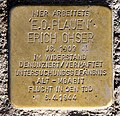 Stolperstein Dudenstr 10 (Kreuz) Erich Ohser.jpg