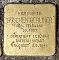 Stolperstein Finowstr 27 (Neukö) Röschen Berliner.jpg