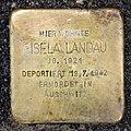 Stolperstein Metzer Str 29 (Prenz) Gisela Landau.jpg
