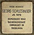Stolperstein für Georg Schlesinger (Cottbus).jpg