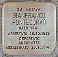 Stolperstein für Gianfranco Pontecorvo (Rom).jpg