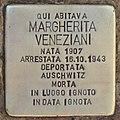 Stolperstein für Margherita Veneziani (Rom).jpg