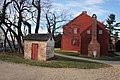 Stone smokehouse and S side - Mary Surratt House.jpg