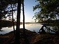 StoraDelsjon Vastergotland Sweden SE sunset 9July2020.jpg