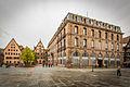 Strasbourg place du Château ancienne école du service de santé militaire octobre 2013 01.jpg