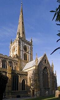 Church of the Holy Trinity, Stratford-upon-Avon Church in United Kingdom