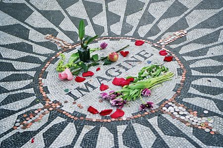 John Lennon's Strawberry Fields Forever Memorial