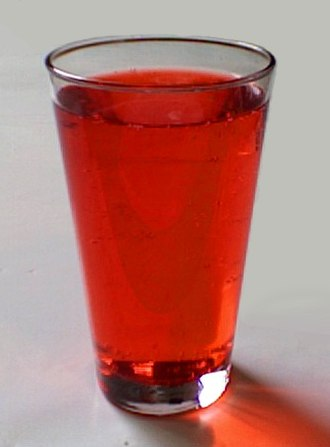 Allura Red AC - Allura Red AC in strawberry soft drink