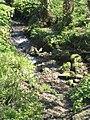Stream below the road at Packsaddle Penryn - geograph.org.uk - 764172.jpg