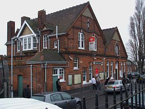 Streatham Common railway station - Image: Streatham Common stn east building