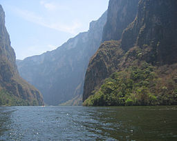 Sumiderocanyonen i Chiapas.