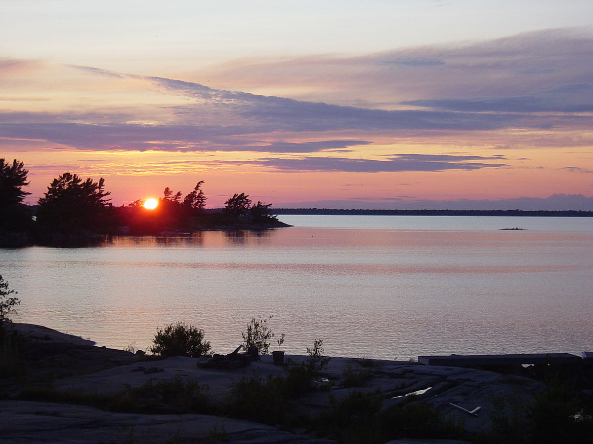 Beausoleil Island National Park Map Where Purchase