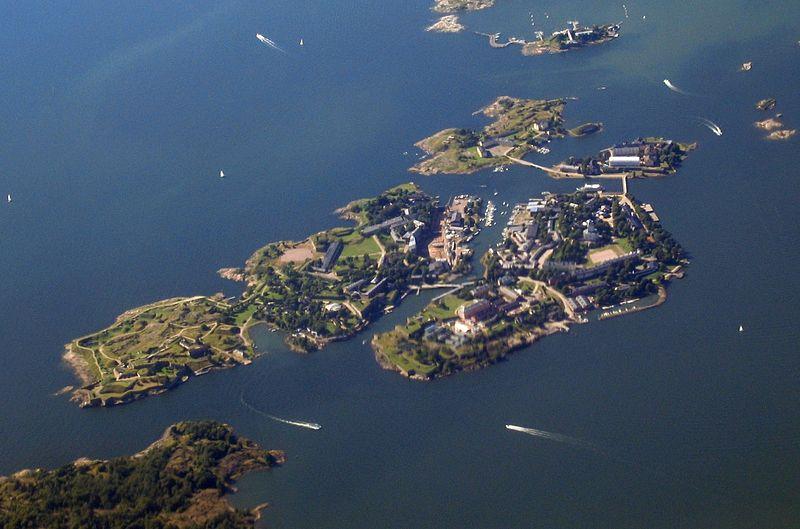 Finlandia con niños y Suomenlinna