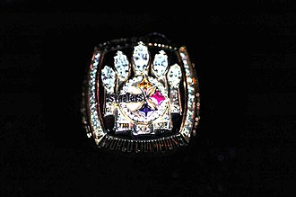 Super Bowl XL - The Steelers Super Bowl XL ring