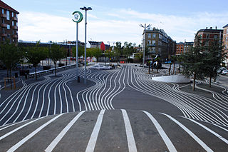 Public park in Copenhagen