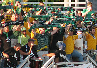 AC St. Louis - AC St. Louis supporters.