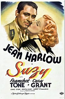 <i>Suzy</i> (film) 1936 film by George Fitzmaurice