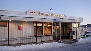 airport in Vågan, Norway