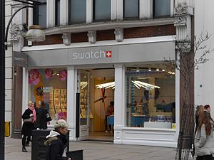 Swatch - Swatch store, Oxford Street, London, 2016