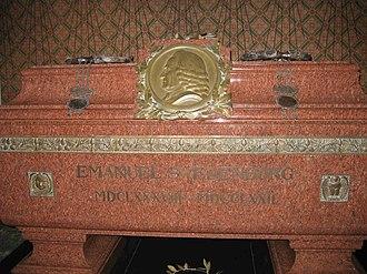Emanuel Swedenborg - Swedenborg's crypt in Uppsala Cathedral