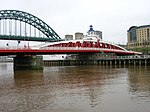 Swing Bridge over River Tyne