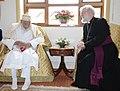 Syedna Mohammed Burhanuddin Archbishop Rowan Williams.jpg