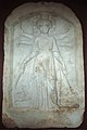 Syncretistic relief, Artemis as a triple goddess, 100-300 AD, Varm39.jpg