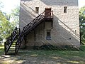 Szigeterdő tower house, stairs, 2018 Dombóvár.jpg
