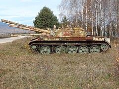 T-55 of former VRS