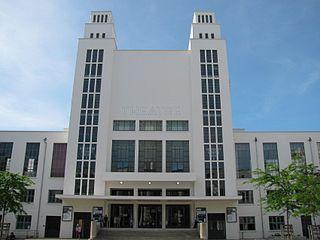 Théâtre National Populaire theatre now at Villeurbanne, France