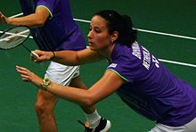 TOTAL BWF World Champs 2015 Day 2 Samantha Barning.jpg