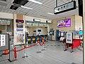 TRA Xizhi Station ticket gate 20200802.jpg