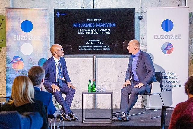 File:Tallinn Digital Summit  Fireside chat with James Manyika