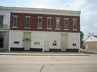 H. C. Pitney Variety Store Building - Image: Tampico Il Main St Hist Dist 122 124 Main 2