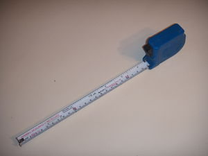 tape measure from Sweden.