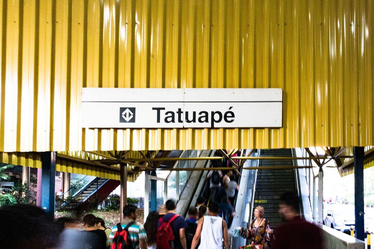 Tatuapé (São Paulo Metro) - Wikipedia