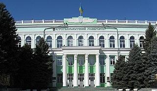 Melitopol City in Zaporizhzhia Oblast, Ukraine