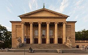 Das Opernhaus, um 1910 erbaut