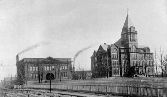 Tech Tower and Shop 1899