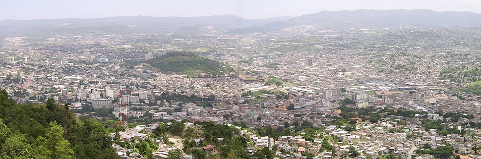 Tegucigalpa viewed from El Picacho-United Nations Park