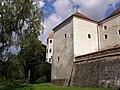 Telč, zámek, hradby 02.jpg
