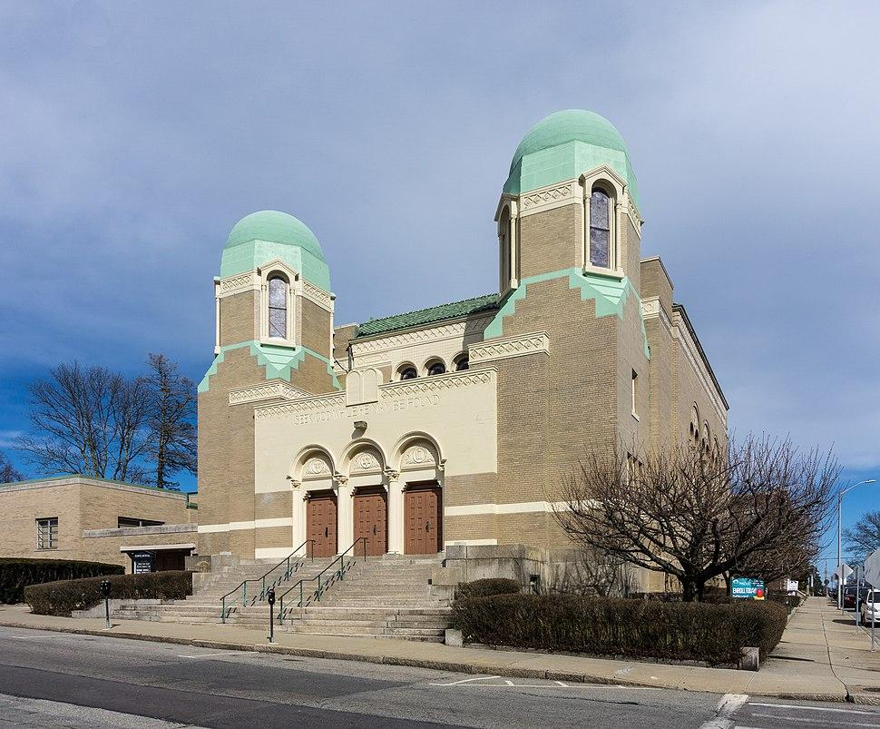 Temple Beth-El, Fall River Massachusetts